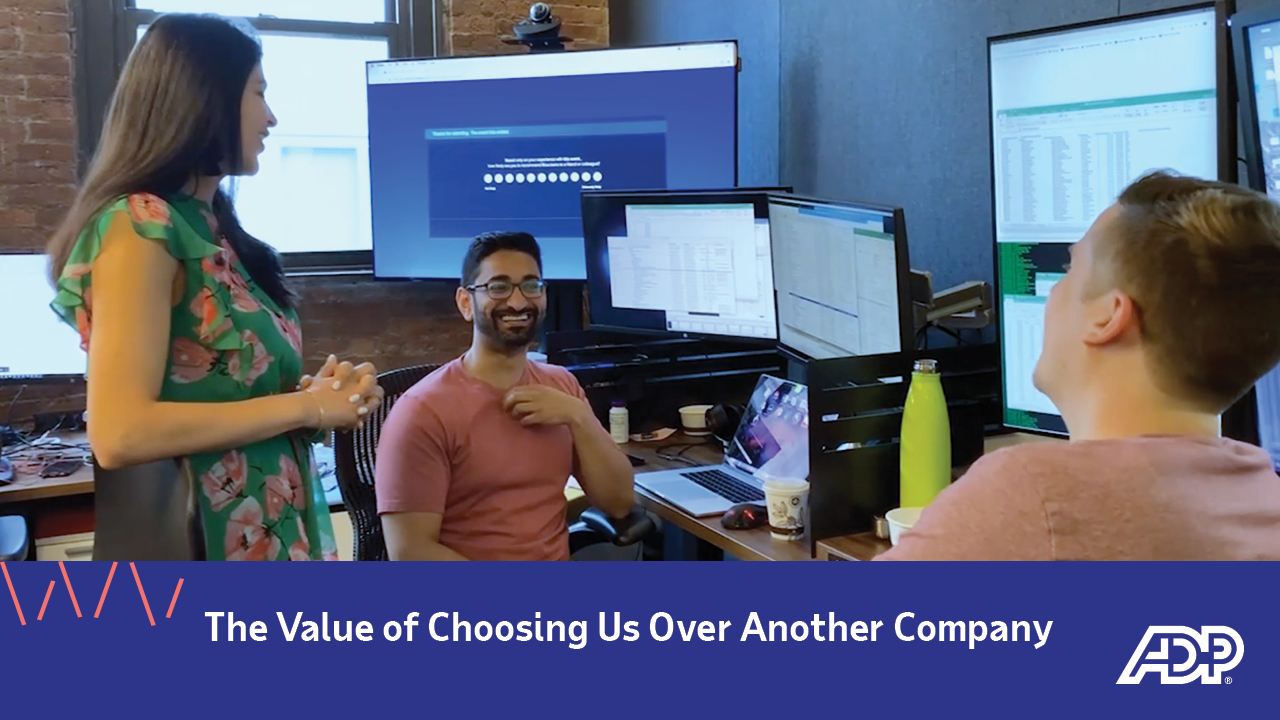 Video: The Value of Choosing Us Over Another Company