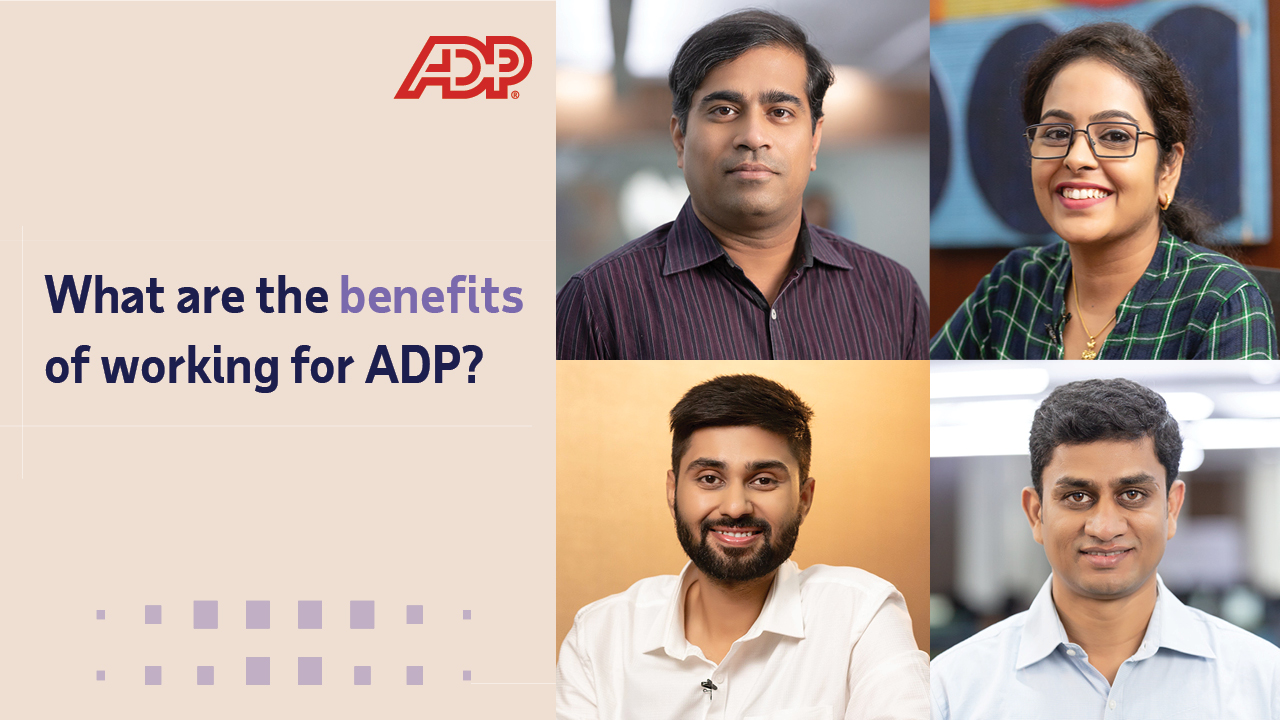 Video: What are the benefits of working for ADP?