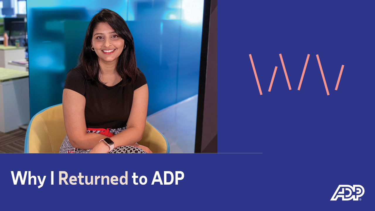 Video: Why I Returned to ADP