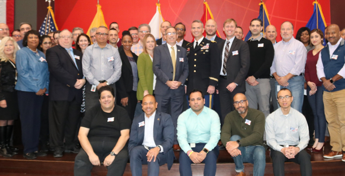Group of military veterans hired for civilian careers at ADP