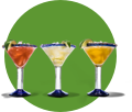 Three refreshing Chili's margaritas