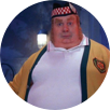 Actor Mike Myers in the movie 'Austin Powers'