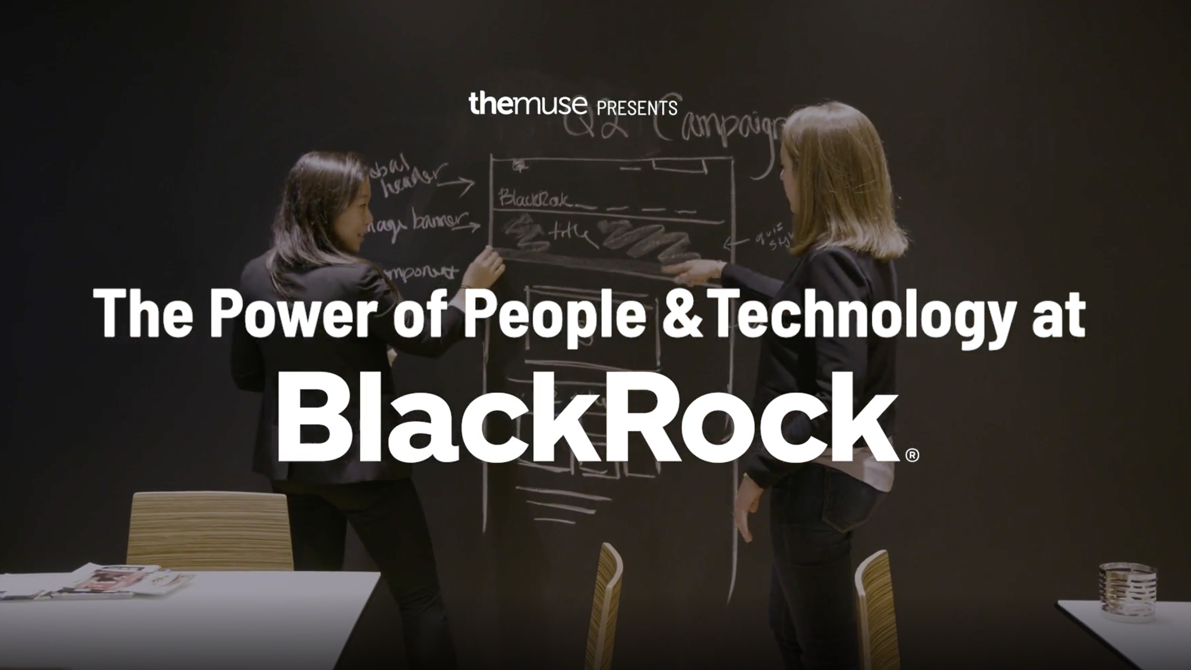 Open video The power of people and technology at BlackRock