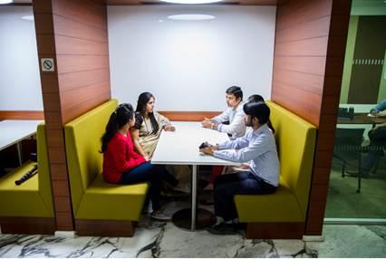 Gurgaon office interior