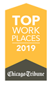 Top Places to Work in Chicago Award 2019