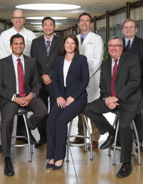 a group of UT Southwestern leaders