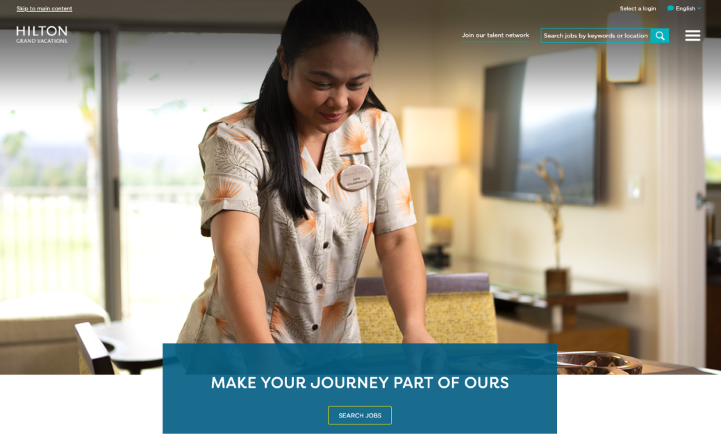Hilton Grand Vacations Career Website