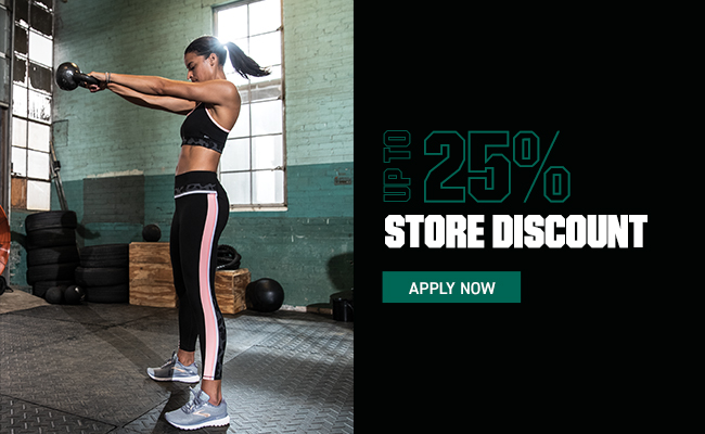Up to 25% store discount