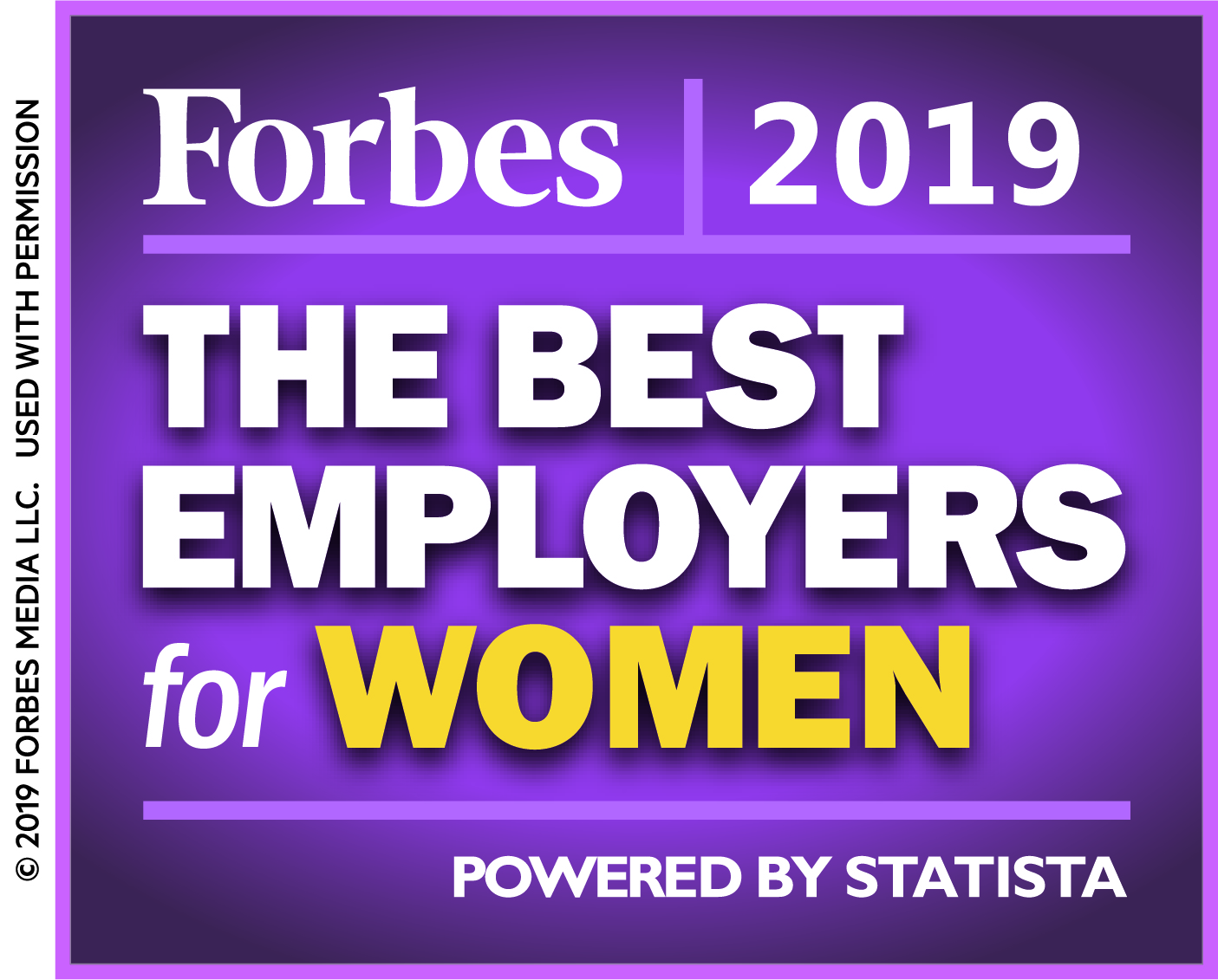 2019 Forbes Best Employers for Women