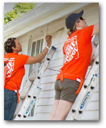 Home Depot Foundation Painting