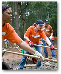 Home Depot Foundation Working