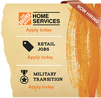 Now Hiring - Home Services - Retail - Military