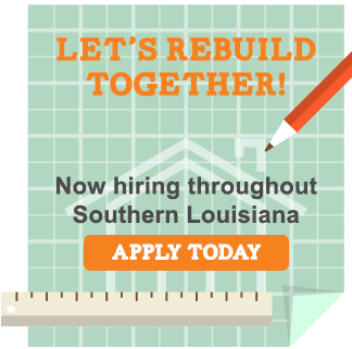 Now Hiring - South Louisiana