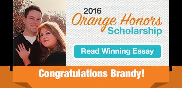 Orange Honors Winning Essay