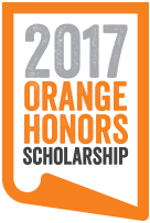 Orange Honors Scholarship Logo