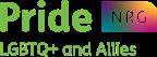 LGBTQ+ and Allies NRG logo