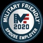Spouse Employer award logo