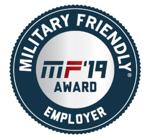 Military Friendly Brands award logo