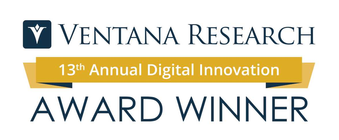 Ventana Research 13th Annual Digital Innovation Award Winner