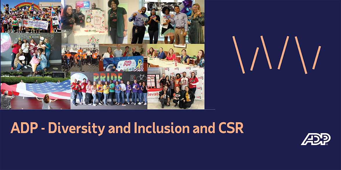 ADP - Diversity and Inclusion and CSR