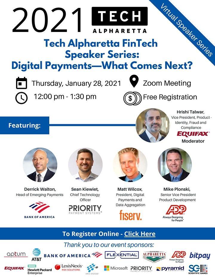 2021 Tech Alpharetta FinTech Event