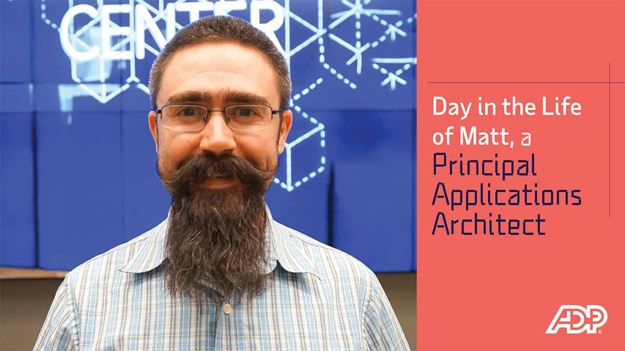 Video: Day in the Life of Matt, a Principal Applications Architect