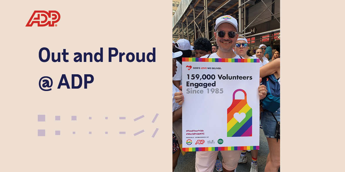 Out and Proud @ ADP