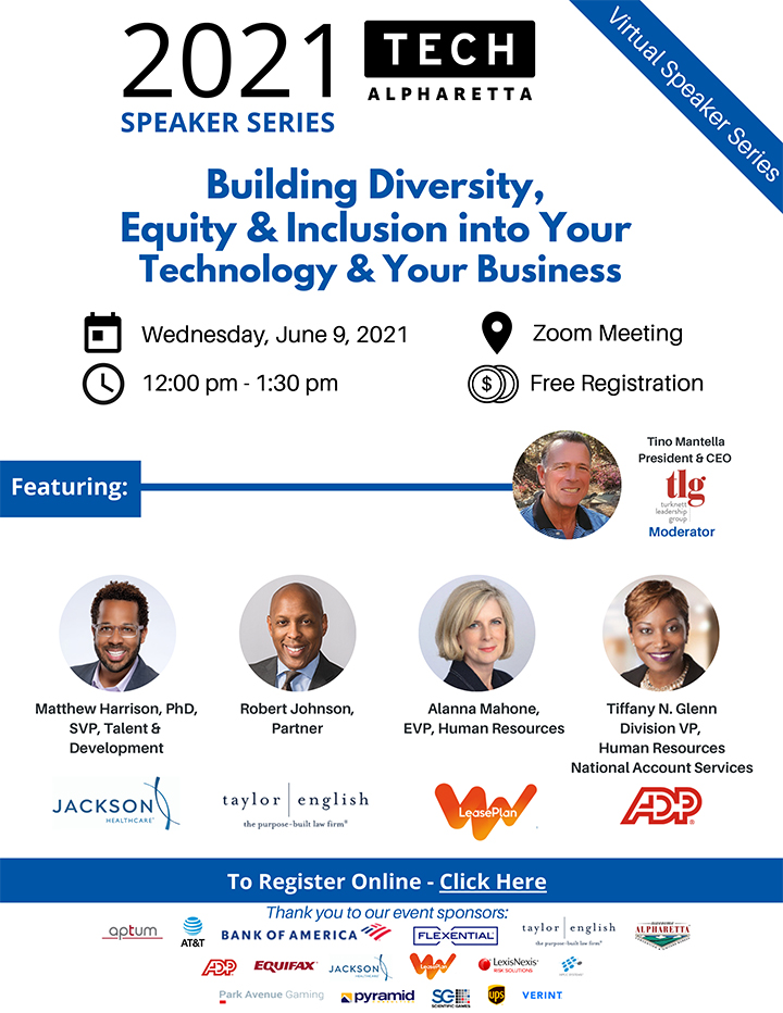 Building Diversity, Equity & Inclusion into Your Technology & Your Business Event
