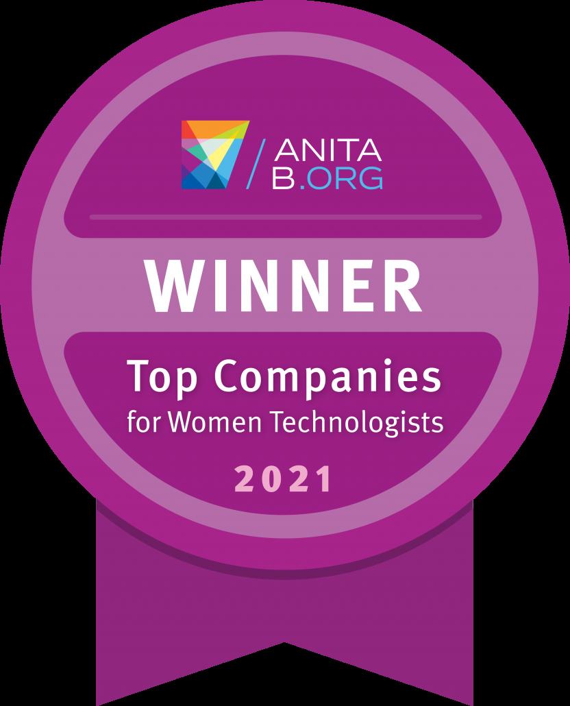 ADP named 2021 Top Companies Badge