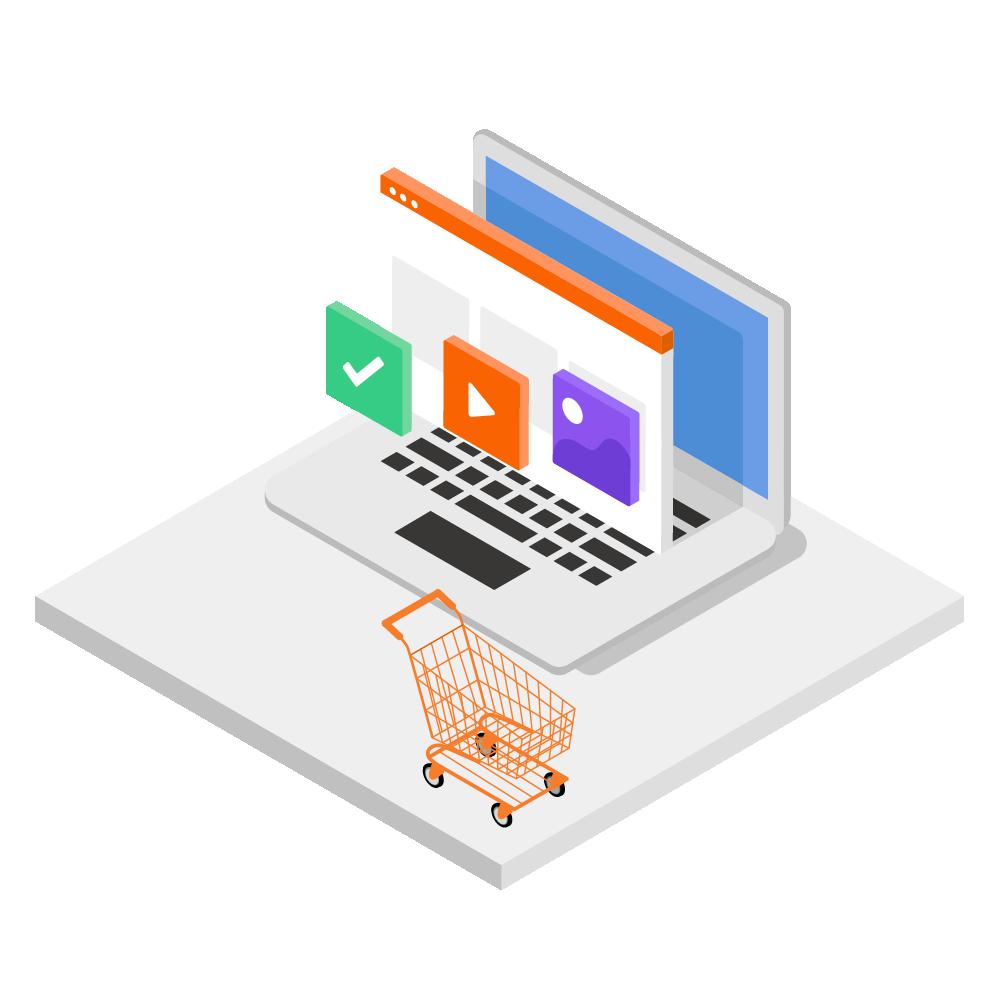 Online Merchandising Tab Icon