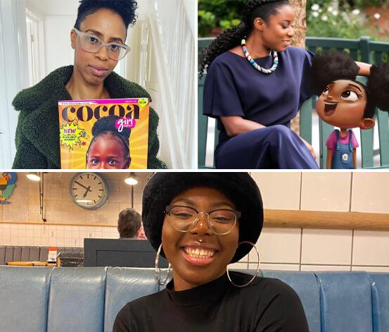 Serlina Boyd, Lorraine O'Garro and Maja Antoine-Onikoyi – Children & Education