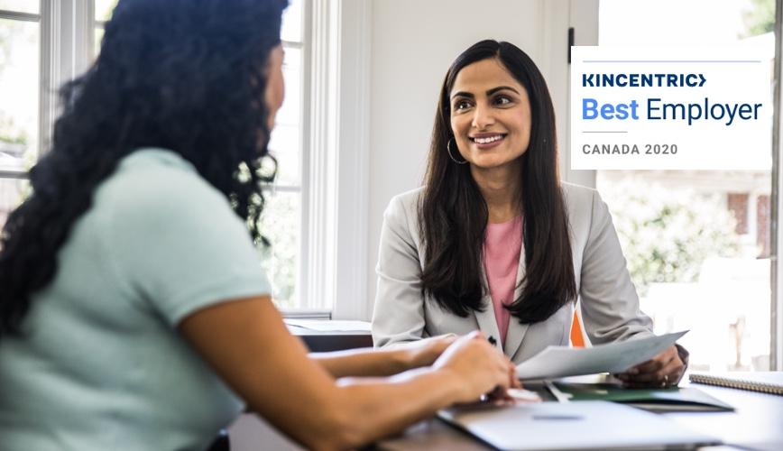 Kincentric meilleurs employeurs au Canada 2020
