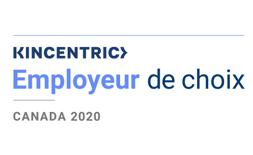 Kincentric : Employeur de choix. Canada 2020