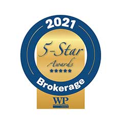 2021 Wealth Professional Awards Gold Winner. The Equitable Bank Award for Multi-Office Advisor Network/Brokerage of the Year