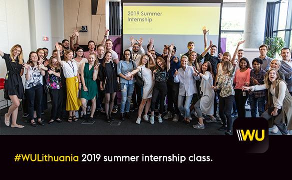 Lithuaia 2019 summer interns