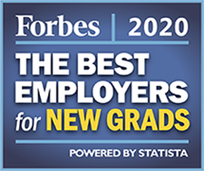 Forbes 2020 Best Employers for New Grads