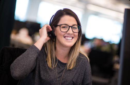 Customer Relationship Advocate smiling