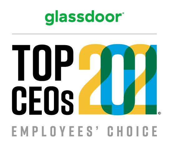2021 Glassdoor Top CEOs