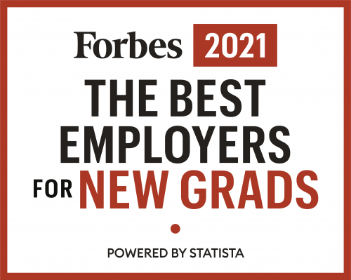 Forbes 2021 Best Employers for New Grads