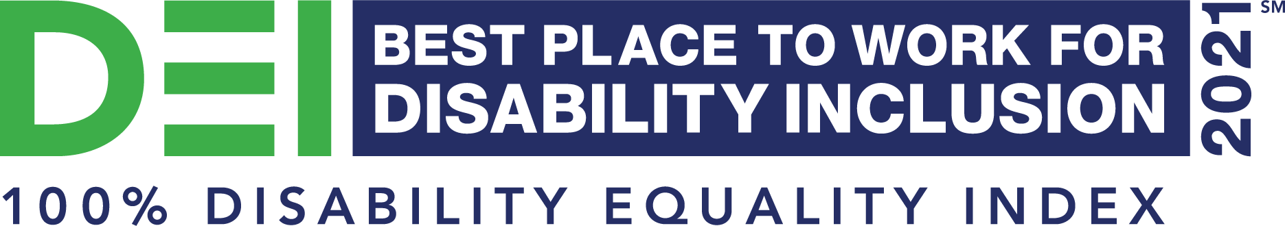 DEI Best Place to Work for Disability Inclusion