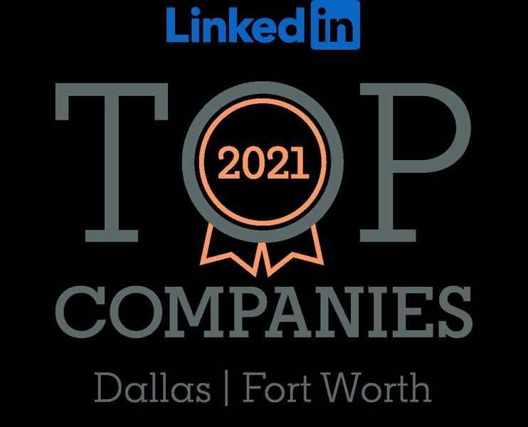 LinkedIn Top Companies DFW