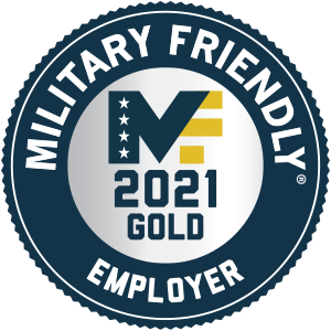 Military Friendly Top 10 Employer 2021