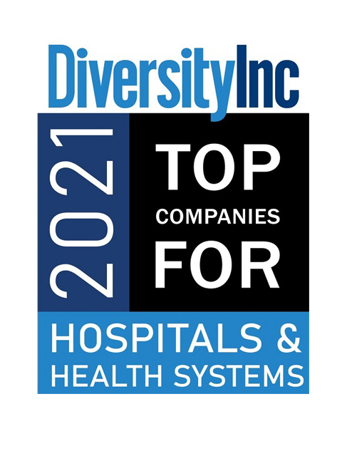 2021 Diversity Inc Top Companies For Hospital and Health Sysems