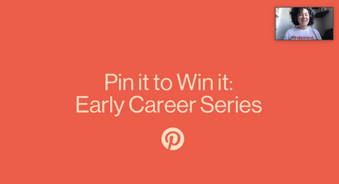 Pin it to Win it: Early Career Web Series Cover Image