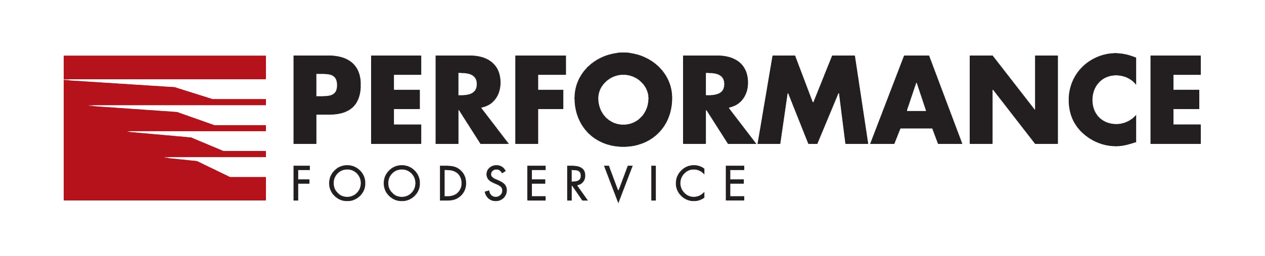 Performance food service Logo