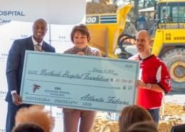 Atlanta Falcons donates to Northside Hospital