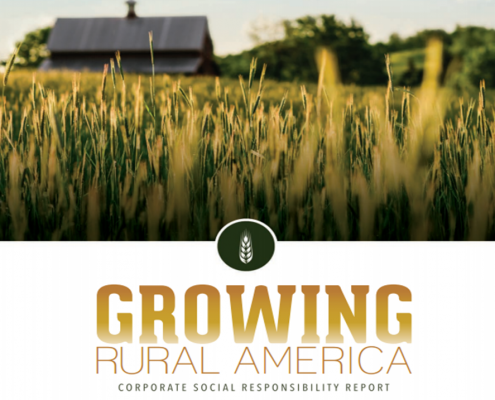 Growing Rural America Corporate Social Responsibility Report