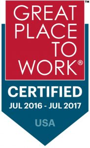 Great Place to Work Badge 2016-07