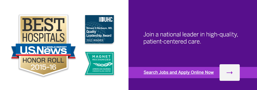 Join a national leader in high-quality, patient-centered care.