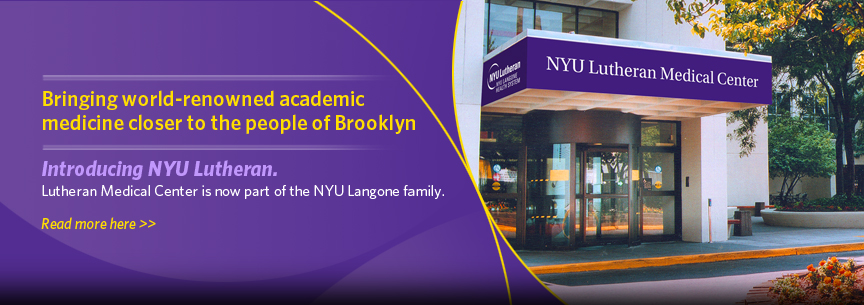 Introducing NYU Lutheran